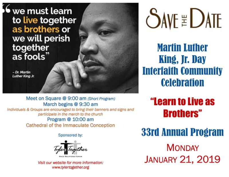 Martin Luther King Jr Day Interfaith Community Celebration